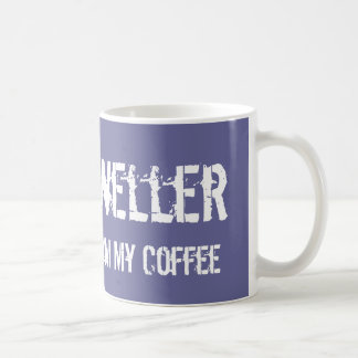 Cube Dweller: Step Away From My Coffee Coffee Mug