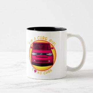 Cube Girl Coffee Mug
