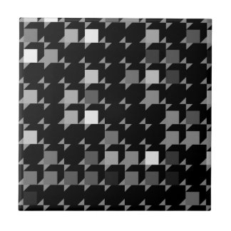 cube repeating pattern (black04) tile
