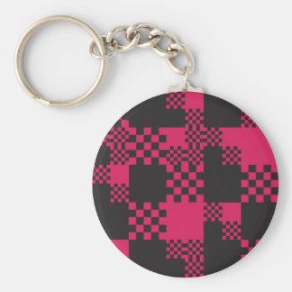 cube square block shape creative keychain