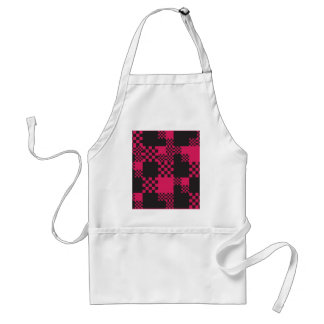 cube square block shape creative standard apron