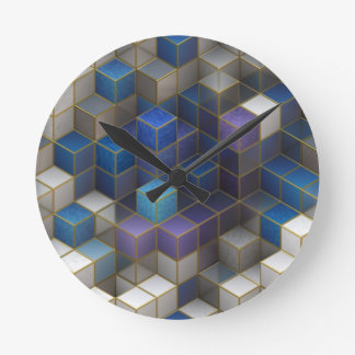 Cube Wallclock