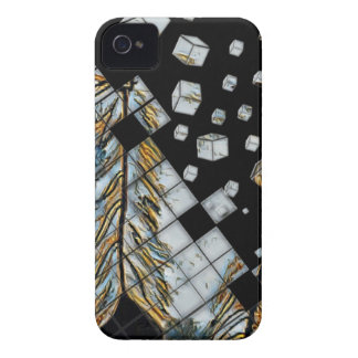 Cubed Abstract Feathers iPhone 4 Cover