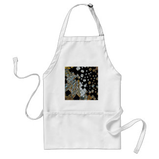 Cubed Abstract Feathers Standard Apron
