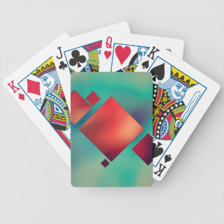 Cubed In Surrealism Bicycle Playing Cards