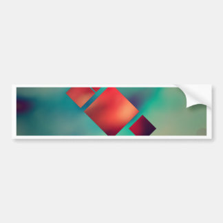 Cubed In Surrealism Bumper Sticker