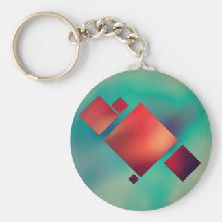 Cubed In Surrealism Keychain