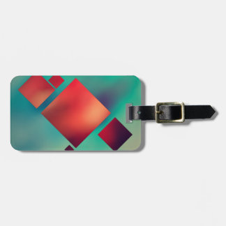 Cubed In Surrealism Luggage Tag