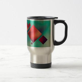 Cubed In Surrealism Travel Mug
