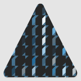 cubes-blue-05 triangle sticker