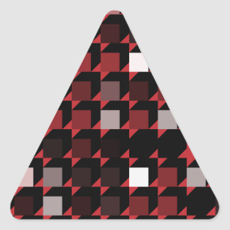 cubes-red-04 triangle sticker