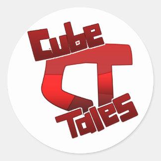 CubeTales Sticker