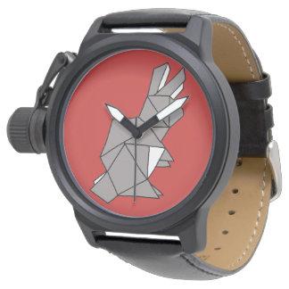 Cubic Rabbit Grey Watch