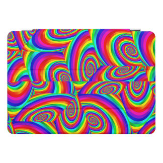 Cubic Rainbow Fractal Ipad Cover