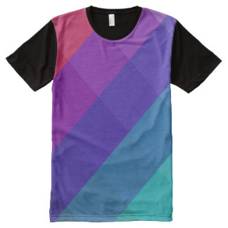 Cubical Colors All-Over-Print T-Shirt