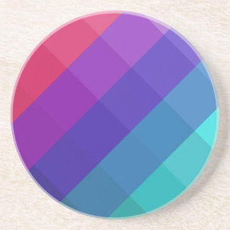 Cubical Colors Coaster