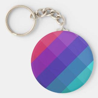 Cubical Colors Keychain