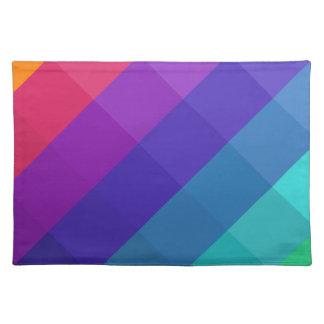 Cubical Colors Placemat