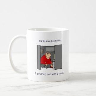 Cubicle (female) coffee mug