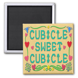 Cubicle Sweet Cubicle Magnet