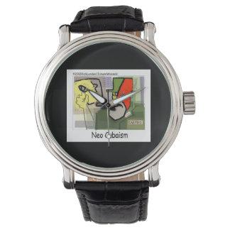 Cubism Castro (NeoCubaIsm) Funny Unisex Watch