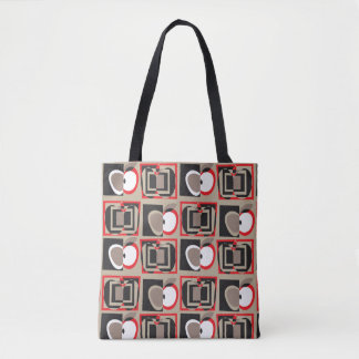 Cubist Apples Tote
