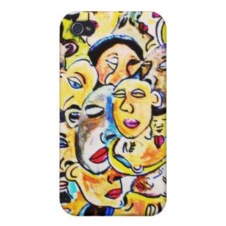 cubist art wrap  iPhone 4 cases