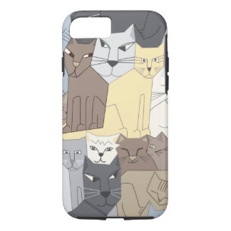 Cubist Cats iPhone 7 Case