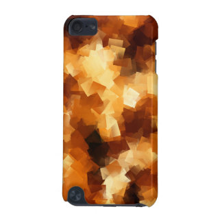 Cubist Fire Abstract Pattern iPod Touch (5th Generation) Cover