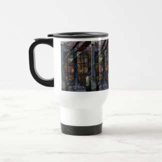 Cubist Shutters, Doors & Windows Travel Mug