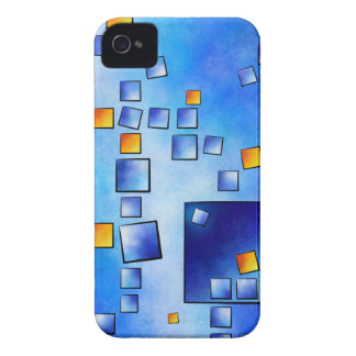 Cublerossia V1 - falling cubes iPhone 4 Covers