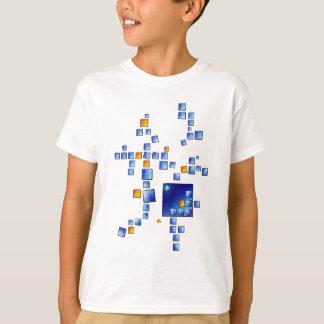 Cublerossia V1 - falling cubes T-Shirt