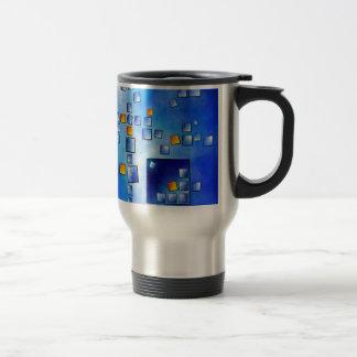 Cublerossia V1 - falling cubes Travel Mug