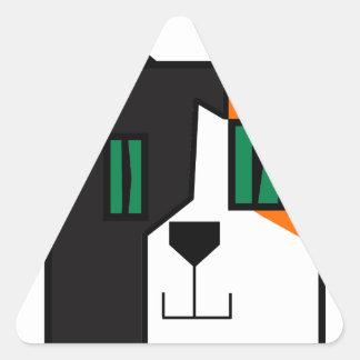 CuboCat - Razi Triangle Sticker