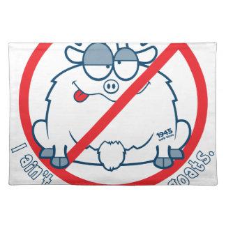 cubs chicago goat shirt placemat