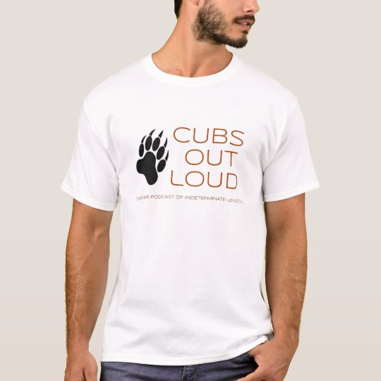 Cubs Out Loud Logo V2 T-Shirt