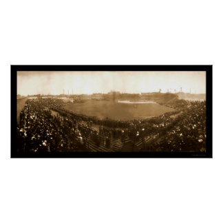 Cubs Sox World Series Photo 1906 Poster