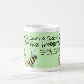 Cuckoo bee and the crazy ant coffee mug