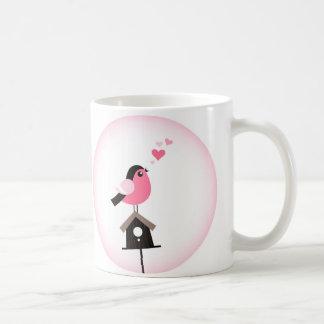 Cuckoo Bird Calling Hearts Coffee Mug