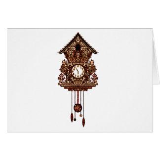 Cuckoo Clock 2 Card
