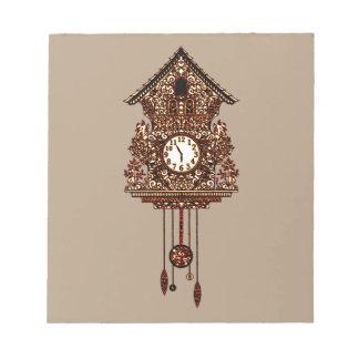 Cuckoo Clock 2 Notepad