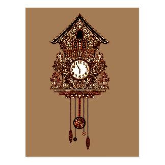 Cuckoo Clock 2 Postcard