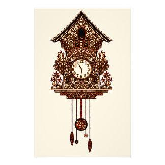 Cuckoo Clock 2 Stationery