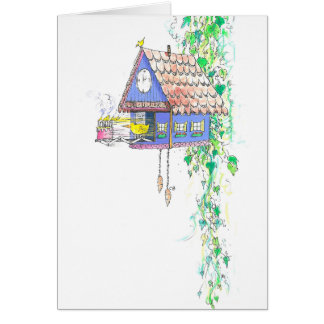 """Cuckoo Clock"" Birthday Card"