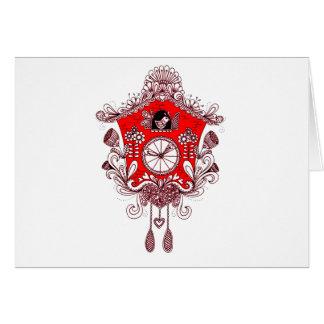 Cuckoo Clock Card