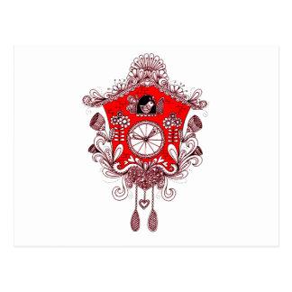 Cuckoo Clock Postcard