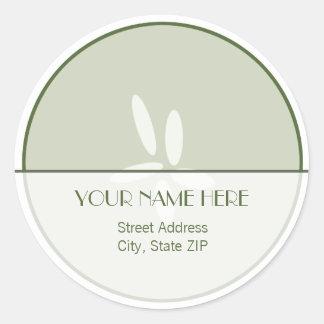 Cucumber Address Label Sticker