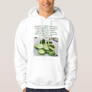 Cucumber mens hoodie