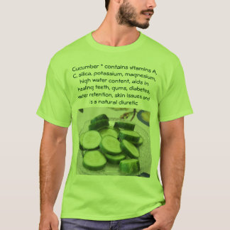 Cucumber mens shirt