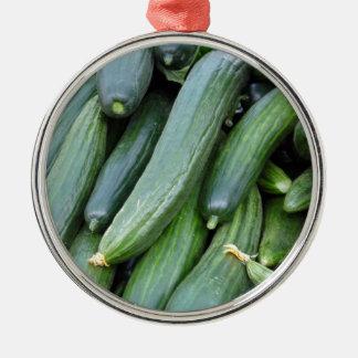 cucumber metal ornament